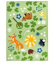 Vallila Mimmit Piirileikki -matto, vihreä