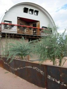 An artist in Mesa, AZ, used a SteelMaster Quonset building for his custom art studio. Check out the post on our blog for more pictures!