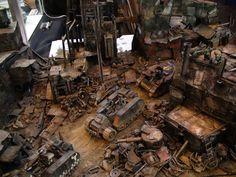 Gamesday Forgeworld display photo by Arty Freeman #Forgeworld #ork #40k #terrain #wargamming