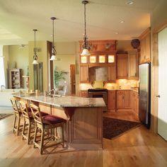 Parkridge European Home Kitchen Photo 01 from houseplansandmore.com
