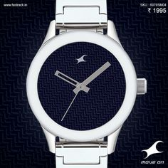 If you've got the time, we've got the goods. Get yourself a Fastrack watch, this season! #MonoChrome #Watch #Design #Fastrack
