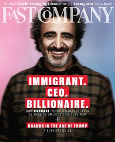 From Kurdish shepherd to billionaire CEO: Hamdi Ulukaya turned milk into gold and created a model for 21st-century leadership.