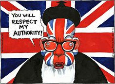 Steve Bell on Michael Gove and 'British values' - cartoon
