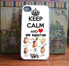 iPhone Case Keep Calm One direction  iPhone 4S and by DanazDesigns, $15.99