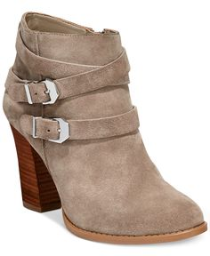 INC International Concepts Jaydie Suede Booties - Boots - Shoes - Macy's