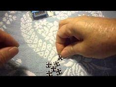 Como unir los cuadros para hacer una cruz que puedes usar como aretes#01