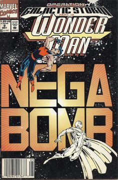 Wonder Man Nega Bomb Marvel Comics cover - Space - Galactic Storm - Mega Bomb - Approved By The Comics Code Marvel Comics Art, Marvel Comic Books, Marvel Characters, Comic Books Art, Storm Marvel, Wonder Man, Classic Comics, Disney Marvel, Comic Book Covers