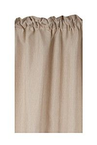 HOPSACK 230X218CM TAPED CURTAIN