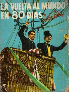 """Esta es otra de las famosas novelas escritas por Julio Verne donde el autor relata fantásticas aventuras, documentándolas con inventos existentes o anticipando las predicciones de otros que aparecerían posteriormente.     """"La Vuelta al Mundo en 80 días"""" fue escrita en 1873."""