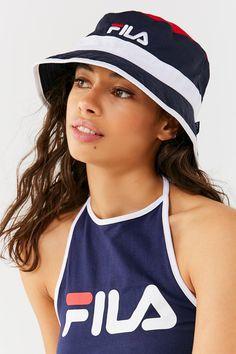 FILA Heritage Unisex Bucket Hat | Urban Outfitters