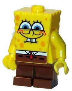 SpongeBob  squint  LEGO  SpongeBob  minifigure