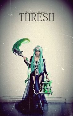 Thresh Cosplay Girls, League Of Legends, Ballet Skirt, Fantasy, Fashion, Moda, Tutu, Fashion Styles, League Legends