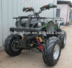 CE proved 50/110CC 3+1, 4 stroke, automatic clutch head light powerful engine wth off road tyres gasoline ATV (CS-A110B ) website: www.harryscooter.com email: sales2@harryscooter.com Skype: Sara-changshun