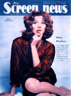 c9ff66cdeba59 SUZY PARKER THe highest-paid model in the world. Suzy Parker actress model