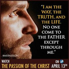 AMEN! Join us SUNDAY for this amazing experience! More here: http://www.uptv.com/thepassionofthechrist