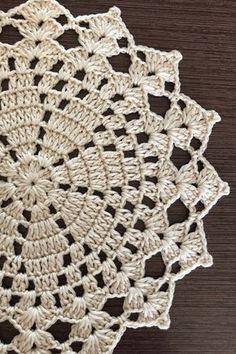 Crochet Doily Farmhouse Placemats Flower Doilies Country House Decor Set Of 6 Pcs Crochet Cotton Doily Table Decoration Crochet Earrings Pattern, Crochet Doily Patterns, Crochet Motif, Crochet Doilies, Hand Crochet, Crochet Flowers, Crochet Stitches, Cotton Crochet, Blanket Crochet