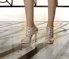 Sandals with high heel Collection