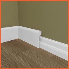 Our Bullnose skirting board cover (skirting over skirting) made from MDF, can help you easily modernise your skirting board.