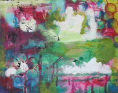 almost there - original abstract painting