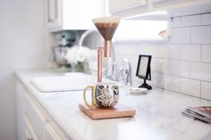 Copper Coffee Pour Over by YuccaLane on Etsy