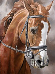 Arabian horse painting - never get sick of looking of this beautiful painting.