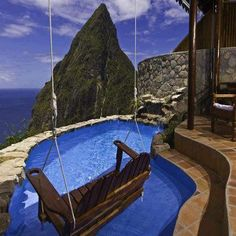 Ladera, St. Lucia  Definately top 2 honeymoon destination