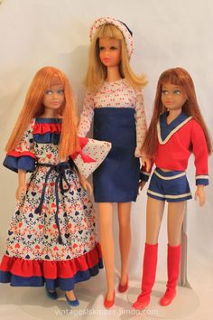 Photo Gallery #1; vintage + mod dolls and fashions - Skipper Website