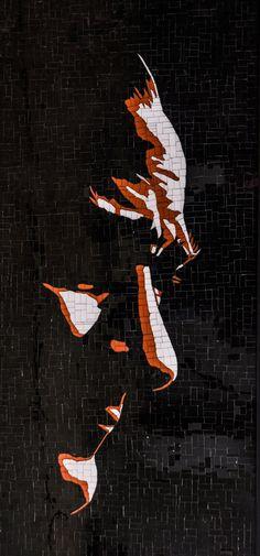 / by Altınok x / Glass Mosaic Art, Mosaic Glass, Foto Gif, The Legend Of Heroes, Illusion Art, Figure Painting, Artist Art, Art Education, Land Scape