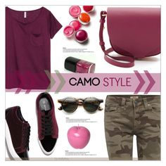 """Go Camo"" by befunky ❤ liked on Polyvore featuring True Religion, Alden, H&M, Sophie Hulme, Clinique, Bitossi, polyvorecommunity, camostyle and PolyvoreMostStylish"