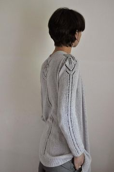 Dragon Lace Pullover pattern by Angela Hahn Flats, Sweater patterns and Awe...