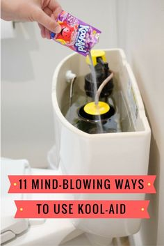 Remove the tank lid and pour in a dark-colored Kool-Aid packet. Wait about 30 minutes without flushing the toilet. If any of the colored water appears in the toilet bowl, there's a leak. You may just have to replace the flapper, or you may have to investigate further.