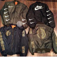 jacket versace vintage bomber jacket nike nike jacket Nike Jacket a23288b8c