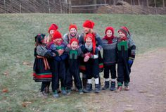 Setesdal children from Norsk Museum Facebook page