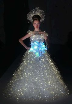 Most expensive out of this world wedding dress.