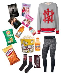 """""""Untitled #108"""" by theeverydaystyle on Polyvore featuring NIKE, N°21, Balvi, Gatorade and Hershey's"""