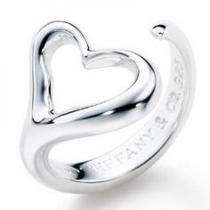 Tiffany's Elsa Peretti open heart ring one of my favorite pieces of jewelry