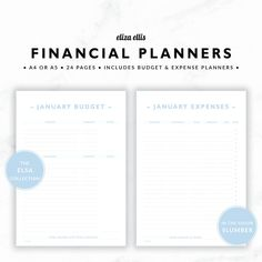 Financial Planners  Budget Planner   Planner  Expense