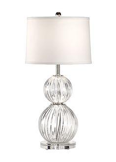 Clear Crystal Ball Lamp