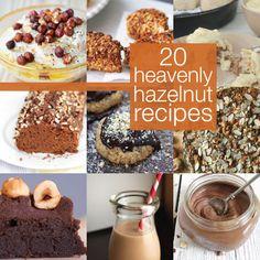 20 Heavenly Hazelnut Recipes #hazelnut #dessert #recipes #yum