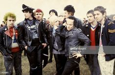 Photo of British PUNKS (Photo by Virginia Turbett/Redferns) British Punk, Punk Outfits, Punk Fashion, Tartan, Virginia, Fictional Characters, Image, Punk Rock Outfits, Plaid