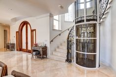Beautiful vacuum lift within a large house entrance #vacuum #lift #elevator #home #domestic http://www.domesticliftcompany.co.uk/