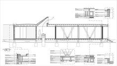 Rambla House,Detail Section