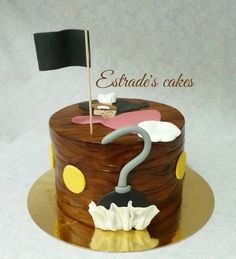 Estrade's cakes: tarta del capitán Garfio