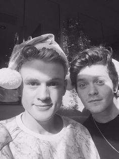Tristan Evans and Connor Ball