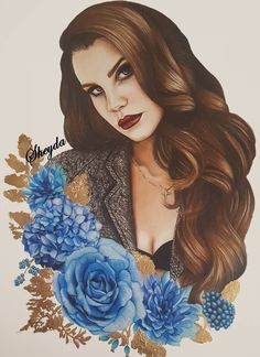 Lana Del Rey #art by Sheyda @art_suxs
