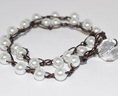 Boho Chic Pearl Wrap Around Bracelet – Urban Rustic Market