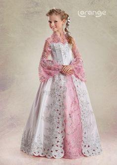 Dekolteli Çocuk Abiye Elbise Modelleri | Moda