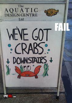 crabs fail