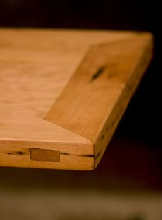 Cress Carpentry and Design - Warminster, PA, United States. Japanese joinery, through-tenon mitered mortise