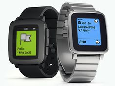 Pebble Time for people who want to be able to use/see their watch while they are outside.